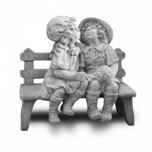 Statua Milly e Fabry