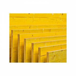 Pannelli gialli muratore