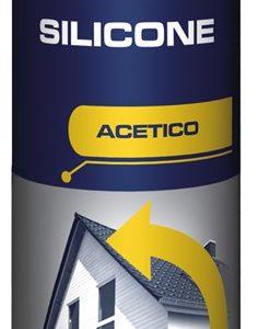 Silicone acetico trasparente
