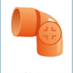 CURVA PVC ISPEZIONABILE