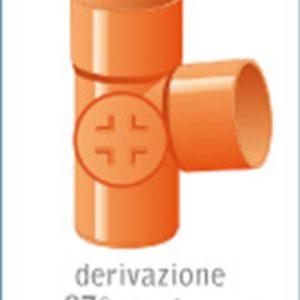 "DERIVAZIONE PVC A ""T"""